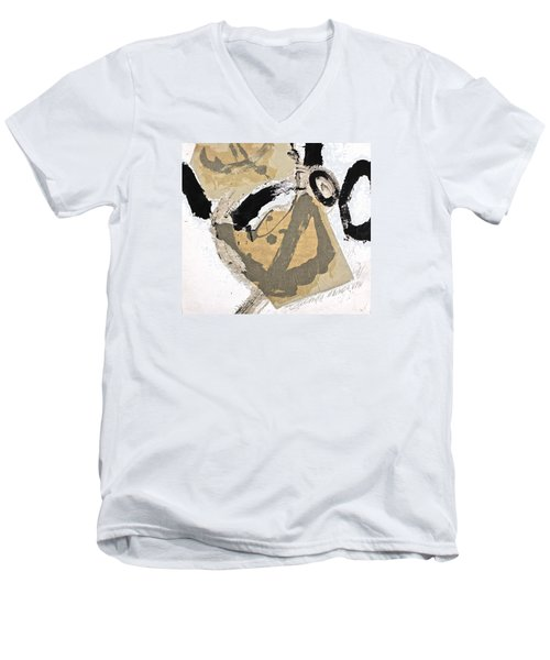 Chine Colle Men's V-Neck T-Shirt