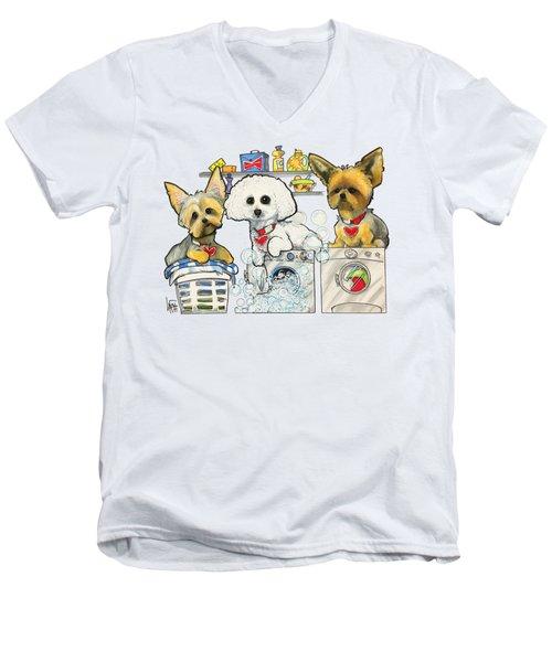 Chinea 7-1438 Men's V-Neck T-Shirt