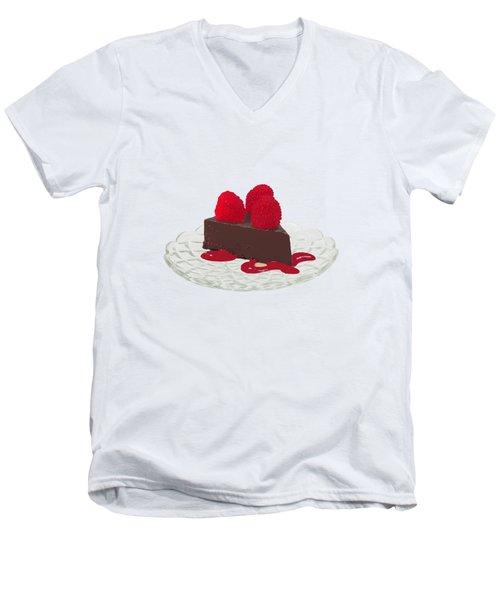 Chocolate Cake Men's V-Neck T-Shirt