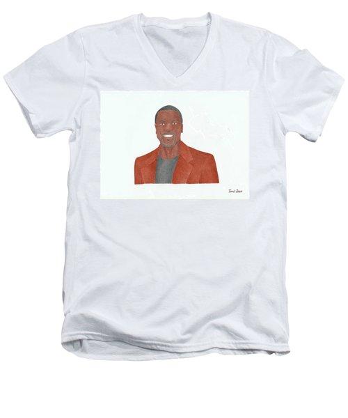 Chris Tucker Men's V-Neck T-Shirt