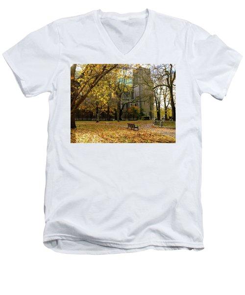 Christchurch Cathedral Men's V-Neck T-Shirt