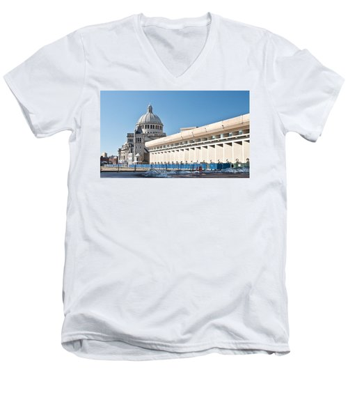 Christian Science Church Men's V-Neck T-Shirt