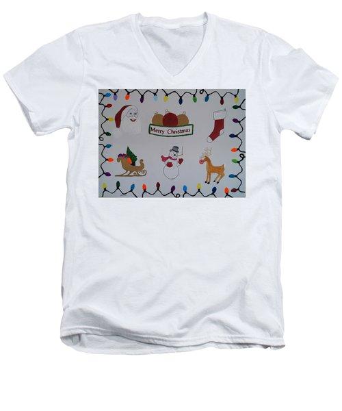 Christmas Dreams Men's V-Neck T-Shirt