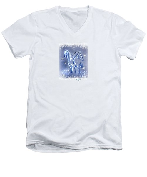 Christmas Friends Men's V-Neck T-Shirt