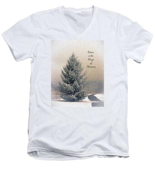 Christmas Magic Men's V-Neck T-Shirt