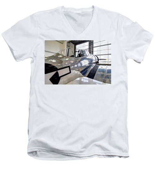 Chrome Men's V-Neck T-Shirt