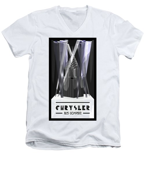Chrysler Men's V-Neck T-Shirt