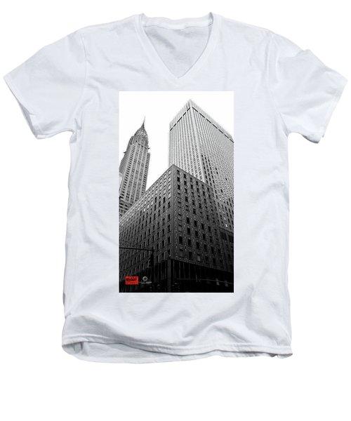 Chrystler Lofts Men's V-Neck T-Shirt