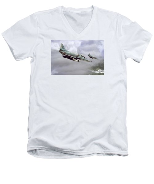 Chu Lai Skyhawks Men's V-Neck T-Shirt