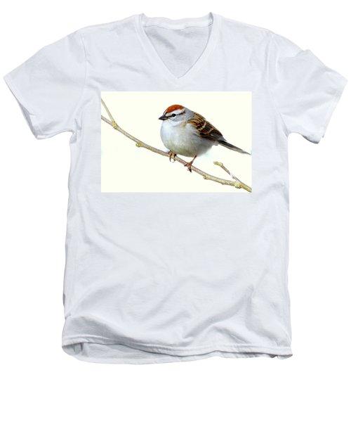 Chubby Sparrow Men's V-Neck T-Shirt