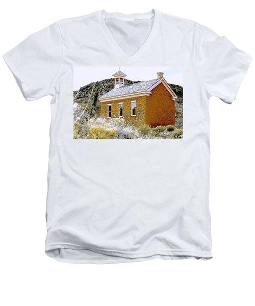 Church - Grafton Utah Men's V-Neck T-Shirt