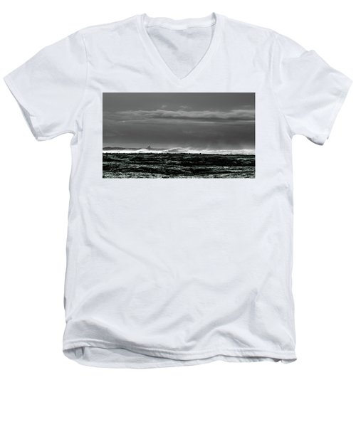 Church By The Sea Men's V-Neck T-Shirt