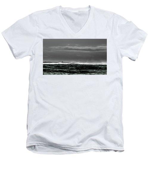 Church By The Sea Men's V-Neck T-Shirt