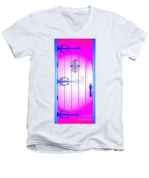 Church Door Men's V-Neck T-Shirt