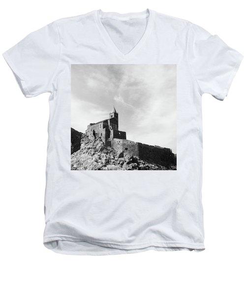 Church Of San Pietro II Men's V-Neck T-Shirt