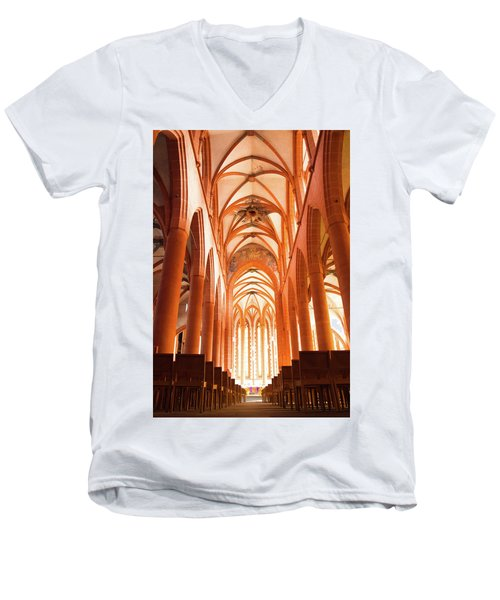 Church Of The Holy Spirit Men's V-Neck T-Shirt