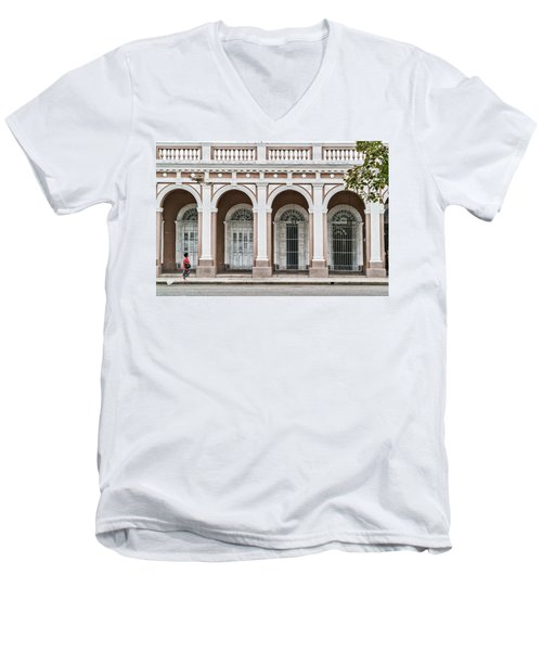 Cienfuegos Arches Men's V-Neck T-Shirt