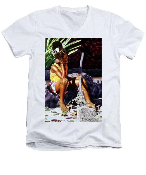 Cinderella Men's V-Neck T-Shirt