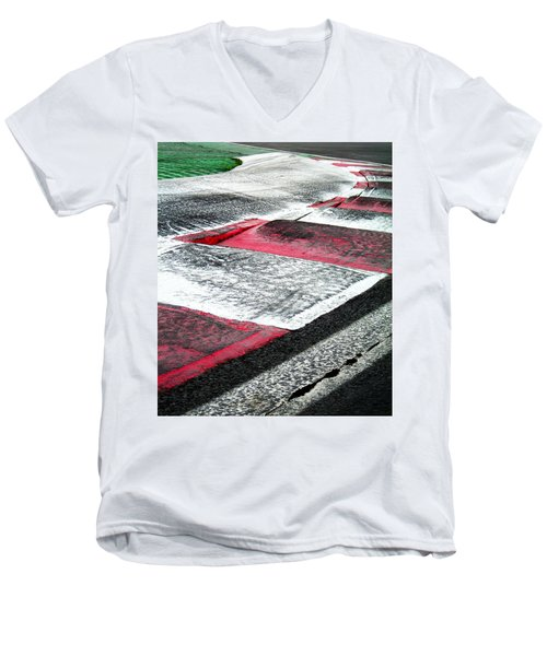 Circuit De Montreal ... Men's V-Neck T-Shirt