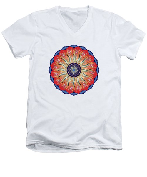 Circularium No. 2627 Men's V-Neck T-Shirt