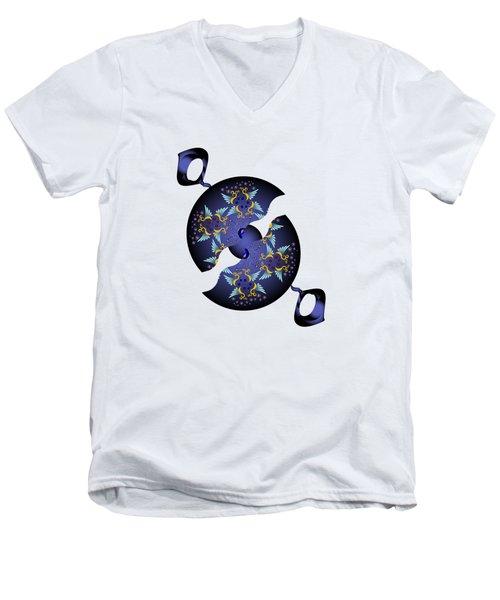 Circularium No 2634 Men's V-Neck T-Shirt