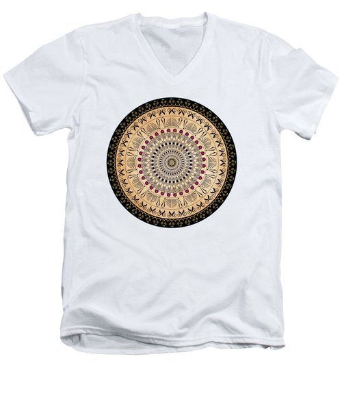 Circularium No 2637 Men's V-Neck T-Shirt