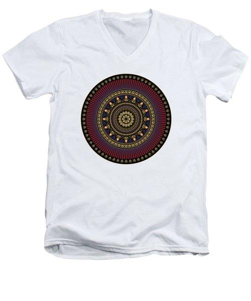 Circularium No 2650 Men's V-Neck T-Shirt