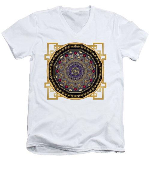 Circularium No 2652 Men's V-Neck T-Shirt