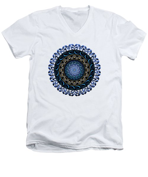 Circularium No 2657 Men's V-Neck T-Shirt