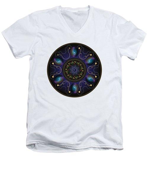 Circularium No 2707 Men's V-Neck T-Shirt