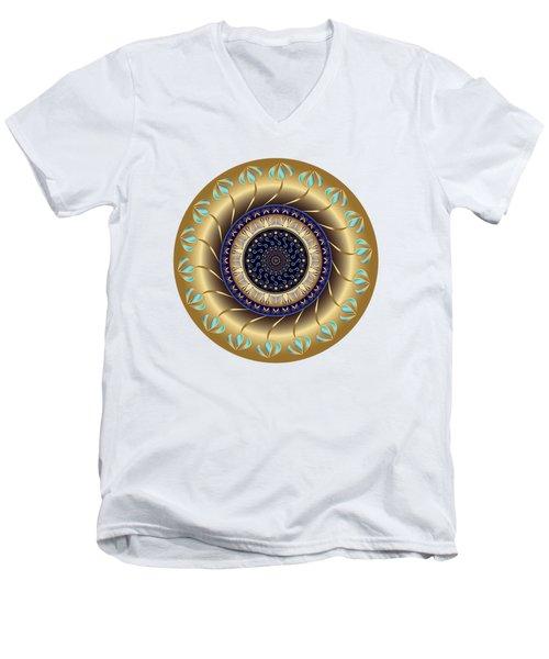 Circularium No 2708 Men's V-Neck T-Shirt