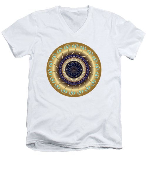 Circularium No 2708 Men's V-Neck T-Shirt
