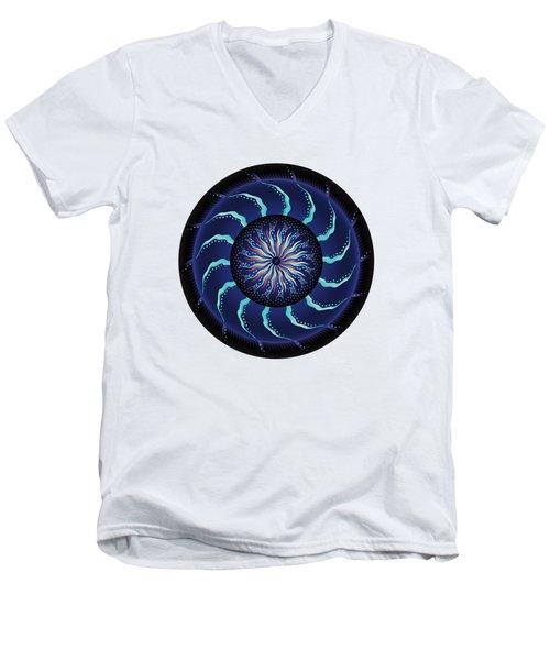 Circularium No 2711 Men's V-Neck T-Shirt