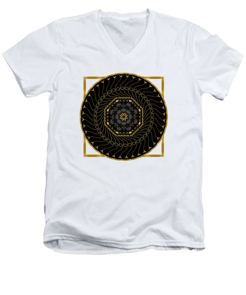 Circularium No 2712 Men's V-Neck T-Shirt