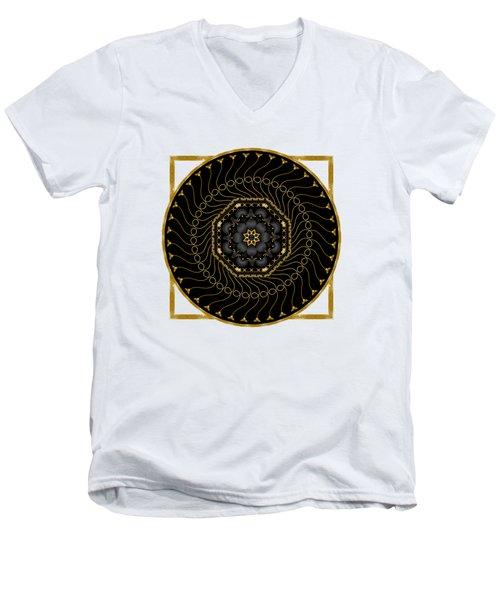 Circularium No 2712 Men's V-Neck T-Shirt