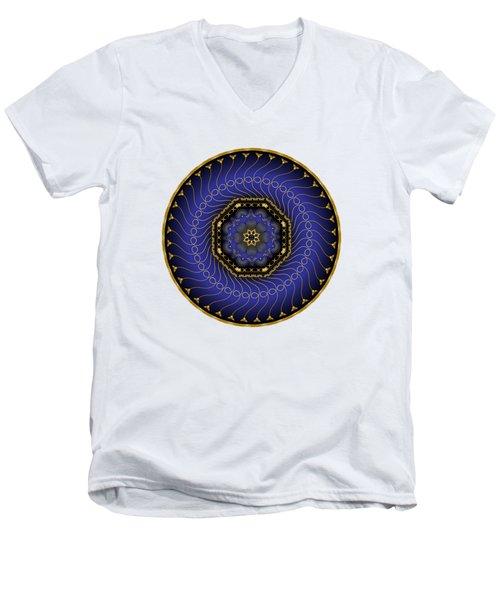 Circularium No 2714 Men's V-Neck T-Shirt