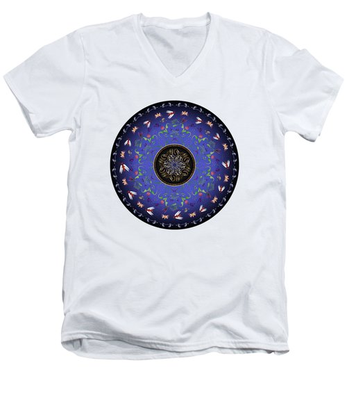 Circularium No 2717 Men's V-Neck T-Shirt