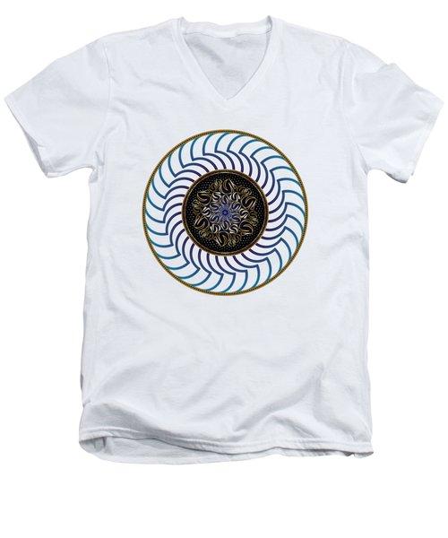 Circularium No. 2722 Men's V-Neck T-Shirt