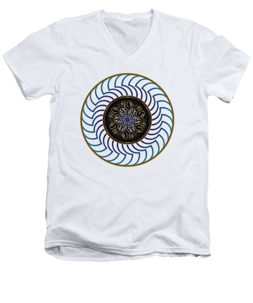 Circularium No. 2722 Men's V-Neck T-Shirt