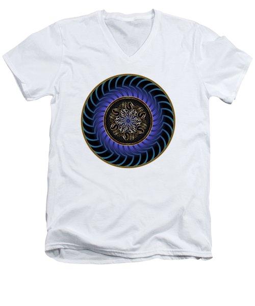 Circularium No. 2723 Men's V-Neck T-Shirt