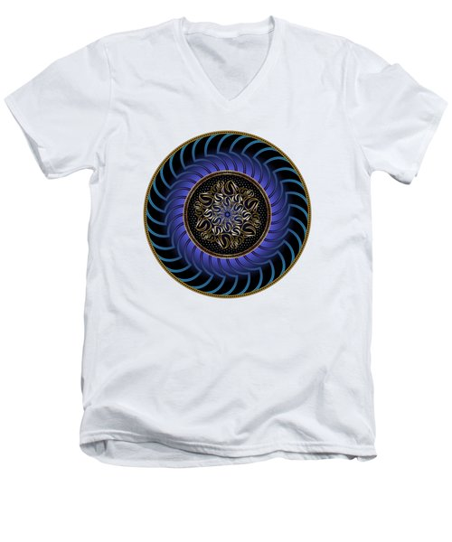 Circularium No. 2723 Men's V-Neck T-Shirt