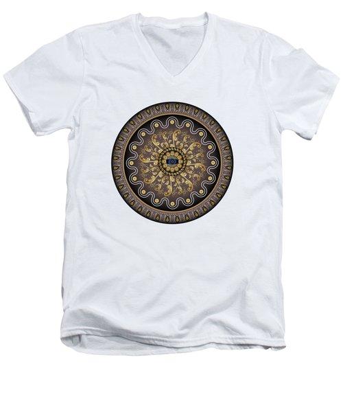 Circularium No. 2729 Men's V-Neck T-Shirt