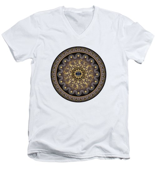 Circularium No. 2729 Men's V-Neck T-Shirt