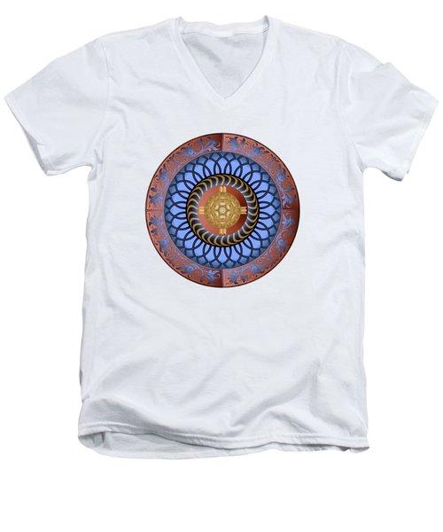 Circularium No. 2731 Men's V-Neck T-Shirt