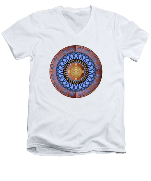 Circularium No. 2731 Men's V-Neck T-Shirt