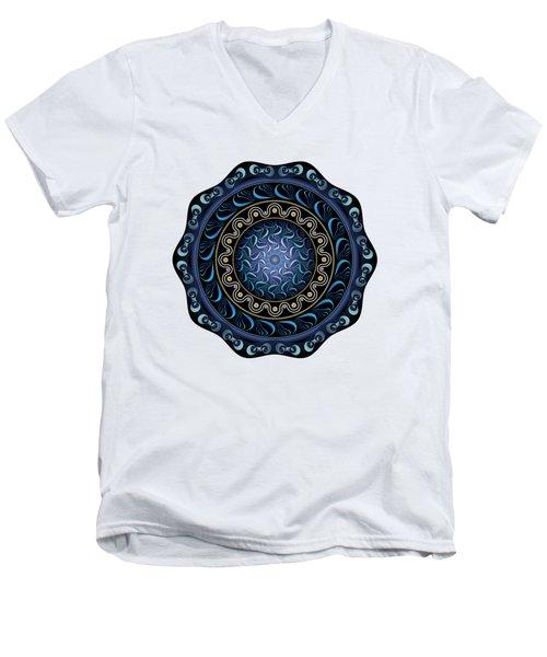 Circularium No. 2720 Men's V-Neck T-Shirt
