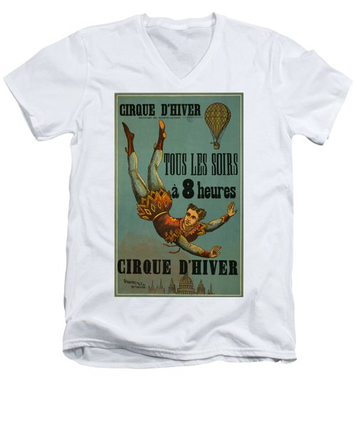 Cirque D'hiver Men's V-Neck T-Shirt