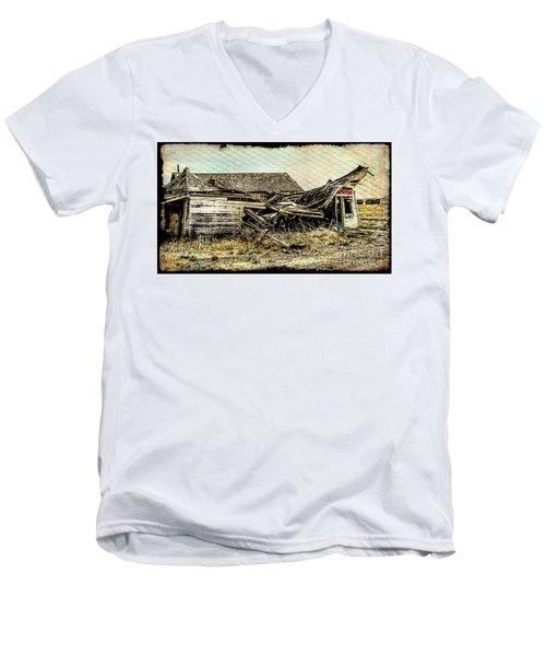 Cisco Ghost Men's V-Neck T-Shirt