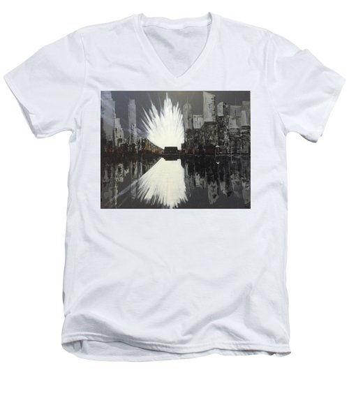 City Reflections Men's V-Neck T-Shirt