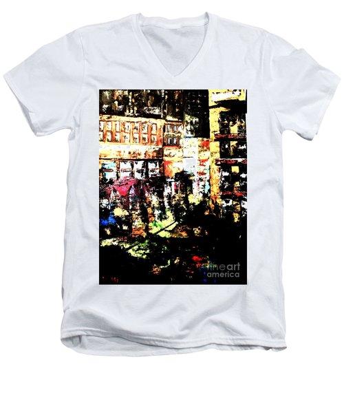 City Stroll Men's V-Neck T-Shirt